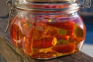 Receta de aceite de guindilla