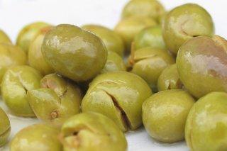 Receta de aceitunas verdes aliñadas