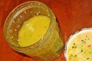 Receta de aderezo de miel y limón