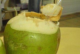 Receta de agua de coco