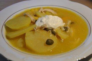 Receta de ajiaco santafereño o sopa colombiana
