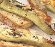 Receta de pimientos rellenos de queso