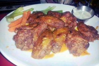Receta de alas de pollo al horno con alioli