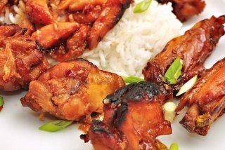 Receta de alas de pollo glaseadas