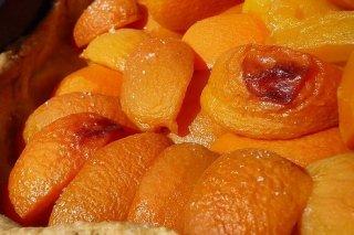 Receta de albaricoques al horno con almendras y miel