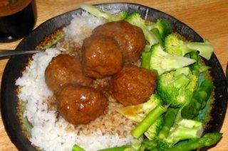 Receta de albóndigas con arroz