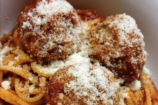 Receta de albóndigas con espaguetis