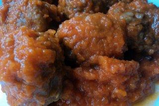 Receta de albóndigas de ternera y cerdo con salsa en thermomix