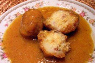 Receta de albóndigas de merluza con salsa