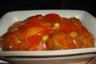 Receta de albóndigas de pollo en salsa de zanahoria