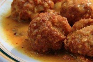 Receta de albóndigas de ternera en salsa