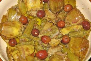 Receta de alcachofas cocidas