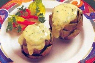Receta de alcachofas con queso