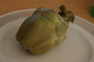 Receta de alcachofas hervidas