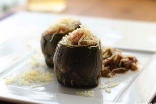 Receta de alcachofas rellenas de jamón y queso manchego