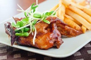 Receta de alitas de pollo agridulces