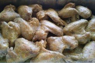 Receta de alitas de pollo al curry