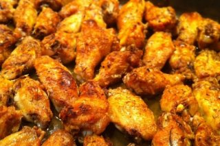 Receta de alitas de pollo al horno con salsa barbacoa
