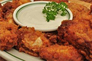 Receta de alitas de pollo crocantes