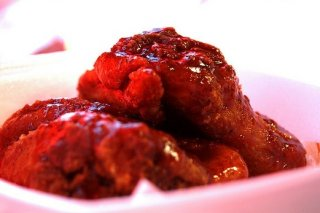 Receta de alitas de pollo en salsa agridulce