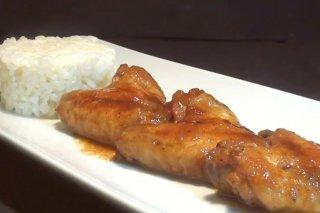 Receta de alitas de pollo en salsa de soja
