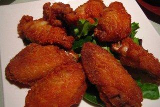 Receta de alitas de pollo fritas