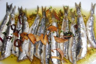 Receta de anchoas a la bilbaína