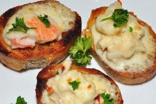 Receta de aperitivos de cangrejo