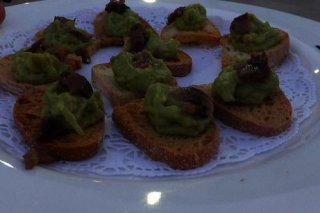 Receta de aperitivos de guacamole