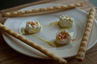 Receta de aperitivos de queso de cabra