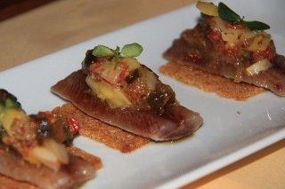 Receta de aperitivos de sardina ahumada