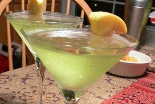 Receta de apple martini
