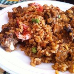 Receta de arroz a la cazuela con costillas