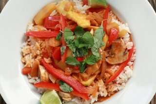 Receta de arroz a la lima
