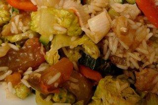 Receta de arroz agridulce