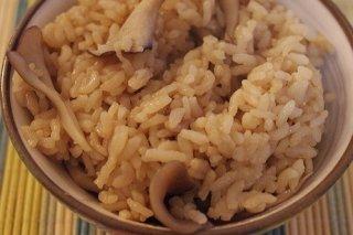 Receta de arroz al curry con setas