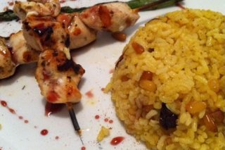 Receta de arroz al curry