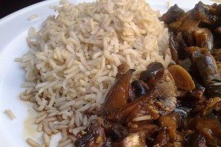 Receta de arroz basmati