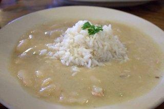 Receta de arroz blanco con judías