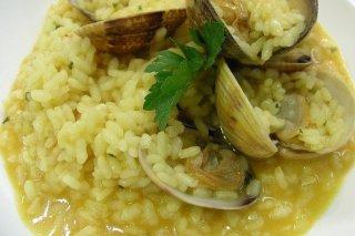 Receta de arroz caldoso con almejas