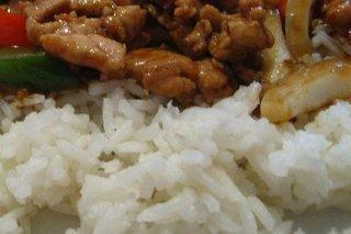 Receta de arroz cocido con pollo y soja