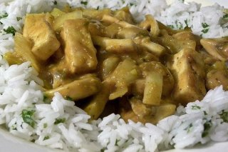 Receta de arroz cocido con pollo