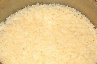 Receta de arroz cocido