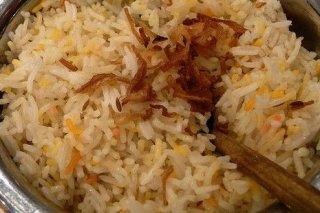 Receta de arroz con bacón