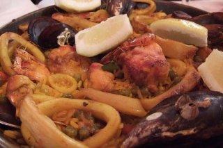 Receta de arroz con calamares