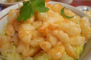 Receta de arroz con camarones