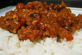 Receta de arroz con carne molida