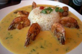Receta de arroz con crema de marisco