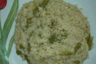 Receta de arroz con espárragos