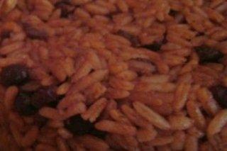Receta de arroz con frijoles